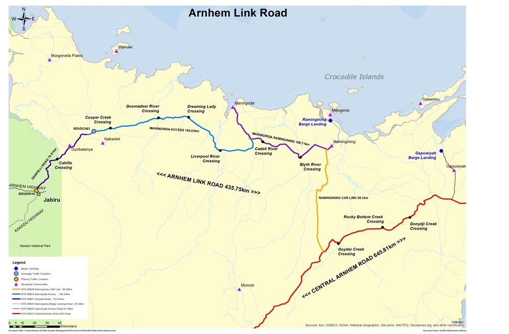 $16 million for Arnhem Transport Infrastructure Project