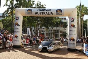 Solar Cars in Darwin