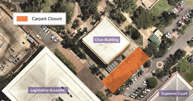 Chan Building demolition map