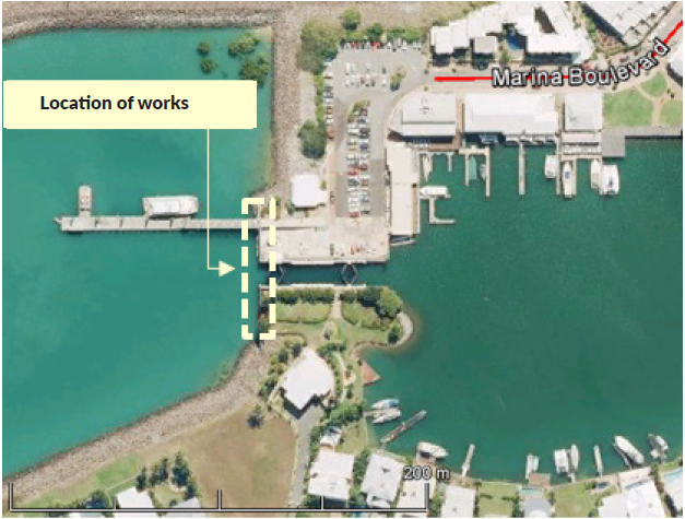 Cullen Bay Sheet Pile Walls Refurbishment