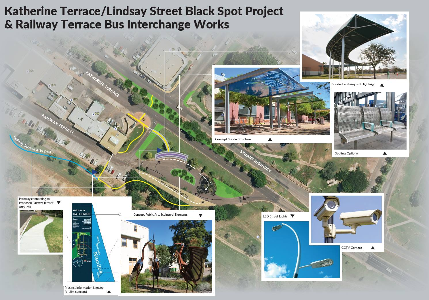 Consultation Open for Katherine Terrace/ Lindsay Street Intersection Safety Improvements