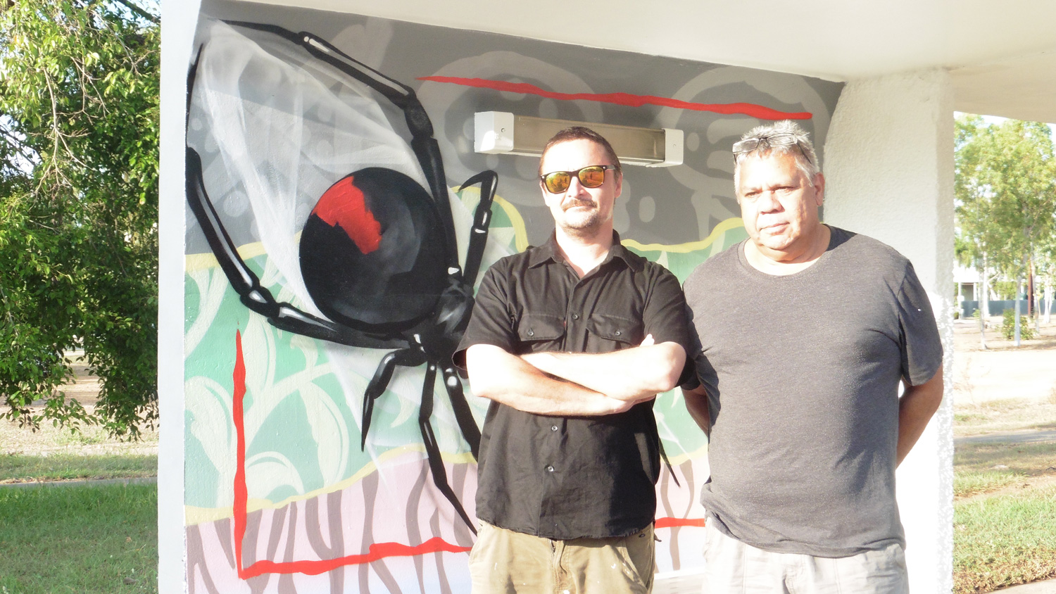 Bus shelters benefit from public art