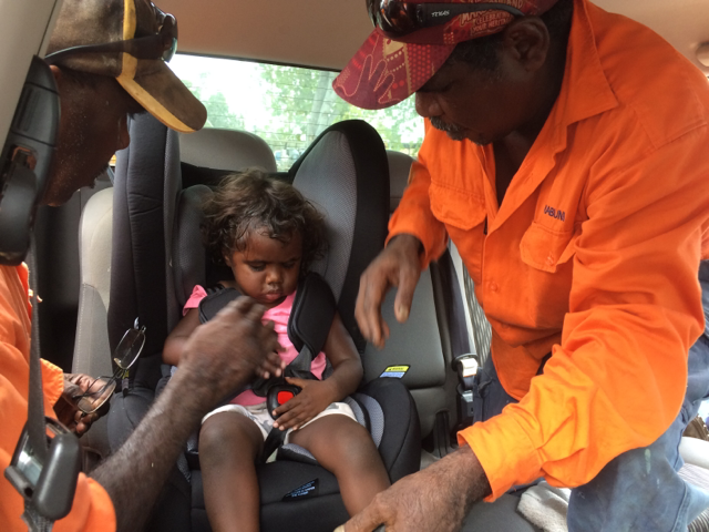 Buckle Up Borroloola Launch