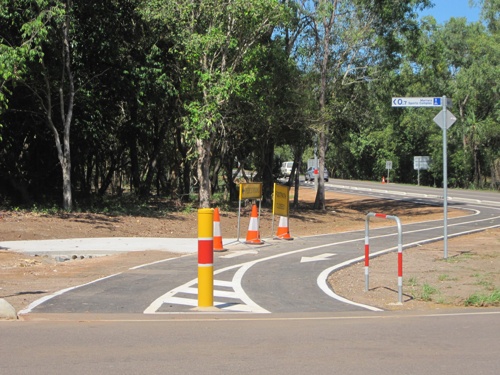 New Cycling Path Opens