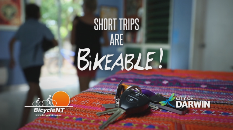 Short trips are bikeable!