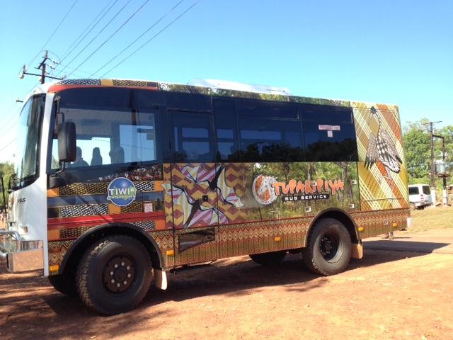 Tiwi bus service starts