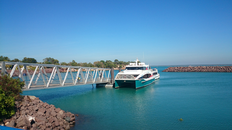 Study to identify future ferry sites and infrastructure need for Darwin