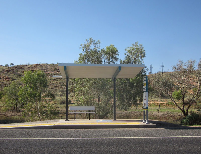 Alice Springs Bus Stop Upgrades