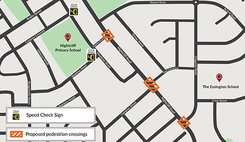 Nightcliff schools traffic calming initiatives